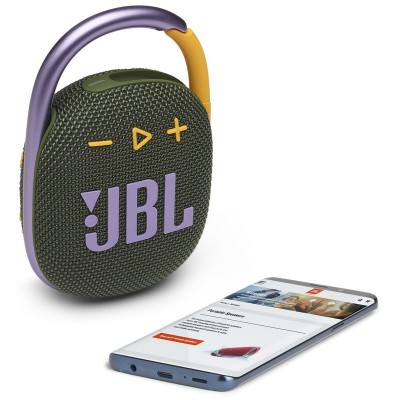 Акустика JBL Сlip 4 (Green) JBLCLIP4GRN